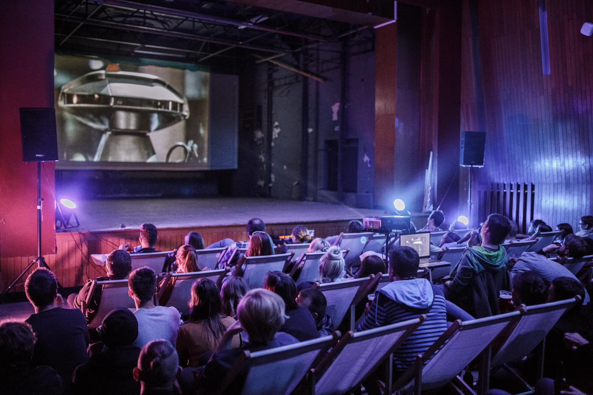 Piąte urodziny VHS Hell, Kino Zawisza, fot. Michał Szymończyk