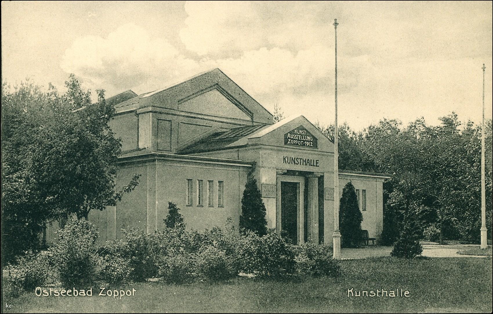 Kunsthalle, 1912. Obecnie w tym budynku znajduje się klub Sfinks700