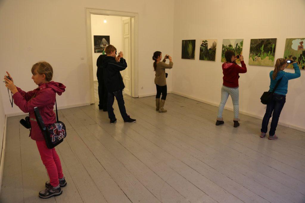 ARTour, wystawa Agaty Nowosielskiej, Dolne Miasto 2014.