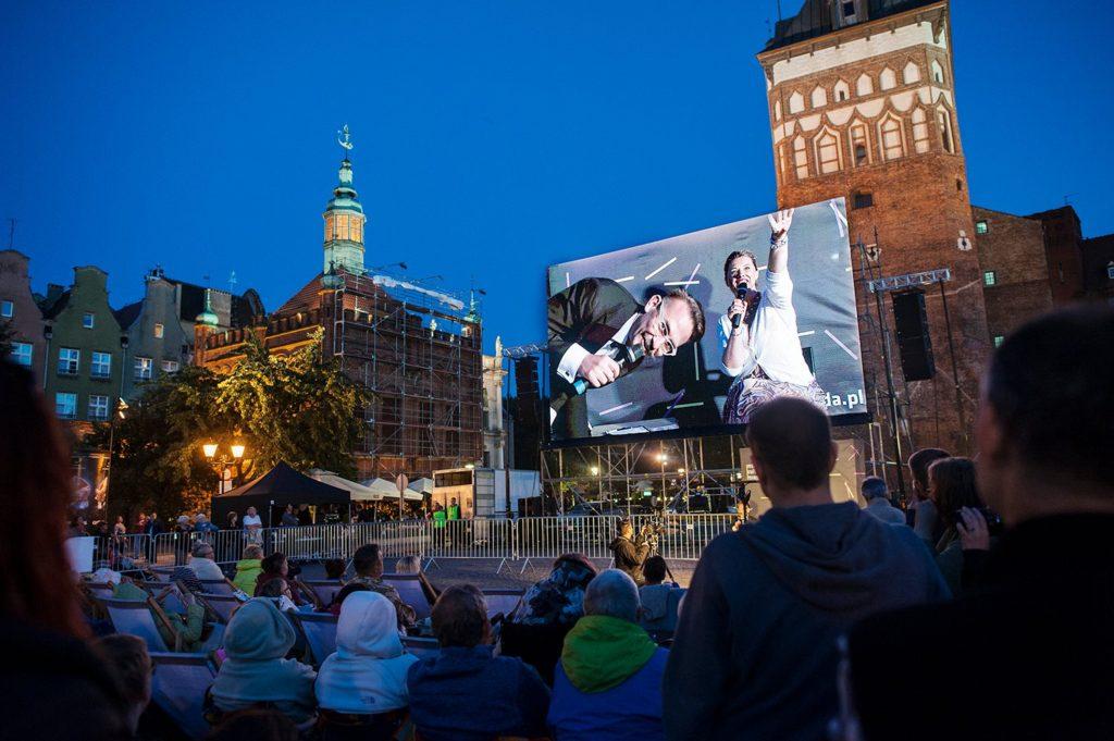 "Opera ""Turandot"" na Targu Węglowym. Fot. Bogna Kociumbas"