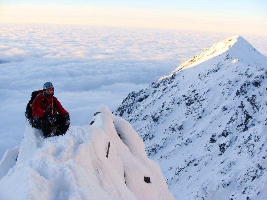 Jeden z pierwszych sezonow w Tatrach, fot. Jędrzej Myśliński